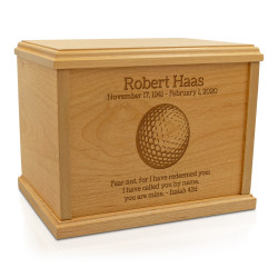 Golf Ball Cremation Urn -...