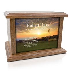 Golf II Cremation Urn -...