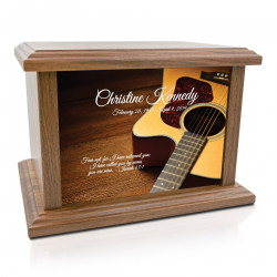 Acoustic Guitar Cremation...