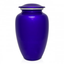 Midnight Blue Cremation Urn