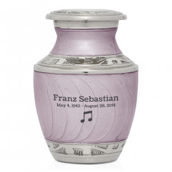 Music Note Keepsake Urn -...