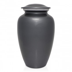 Gunmetal Gray Cremation Urn