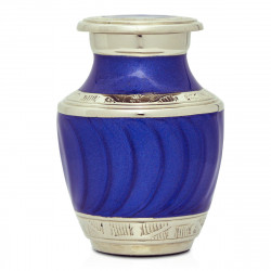 Royal Blue Keepsake Urn