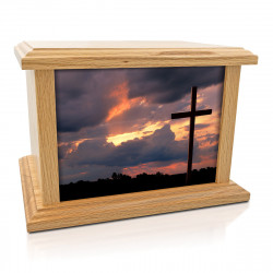 Cross Cremation Urn -...
