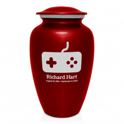 Gaming Cremation Urn - Ruby...