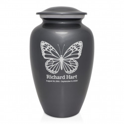 Butterfly Cremation Urn -...