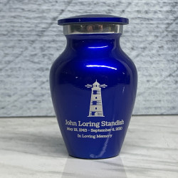 Customer Gallery - Lighthouse Keepsake Urn - Midnight Blue