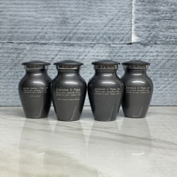 Customer Gallery - Gunmetal Gray Keepsake Urn