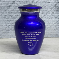 Customer Gallery - Midnight Blue Keepsake Urn