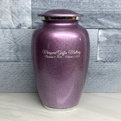 Customer Gallery - Purple Luster Cremation Urn