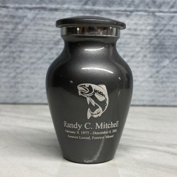 Customer Gallery - Fishing Keepsake Urn - Gunmetal Gray