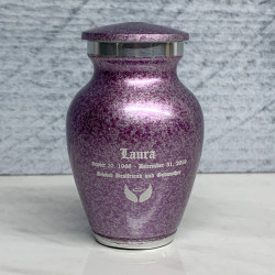 Customer Gallery - Purple Luster Keepsake Urn