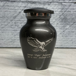 Customer Gallery - Eagle Keepsake Urn - Gunmetal Gray