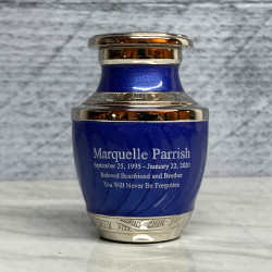 Customer Gallery - Royal Blue Keepsake Urn