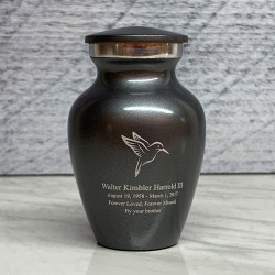 Customer Gallery - Hummingbird Keepsake Urn - Gunmetal Gray